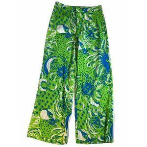 Lilly Pulitzer Womens Palazzo Pants Green Size 0